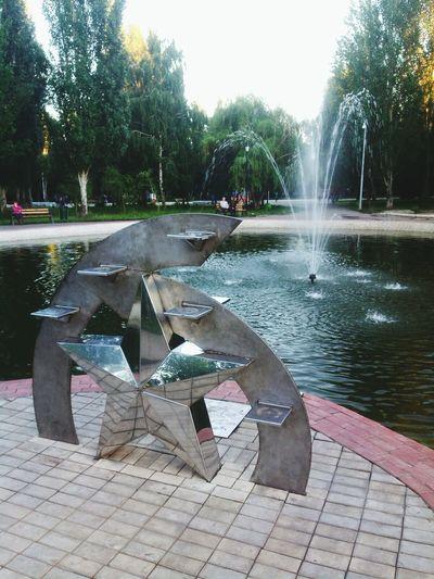 Fountain фонтан Самара Samara