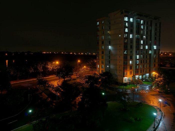Night Neighborhood Map