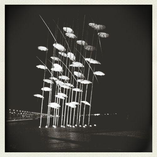 Umbrellas Thessaloniki Nea Paralia Thessalonikis