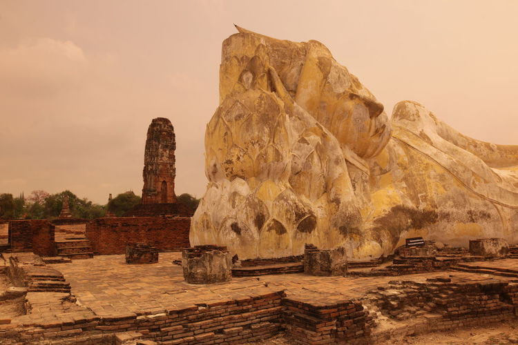 WA ASIA Ayuthaya Ayutthaya Famous Place History Landmark Ruin Southeastasia Temple Thailand Tourism Travel Travel Destinations Traveling