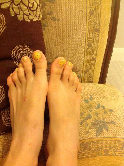 Nail Polish Nail Design My Part Happy Feet