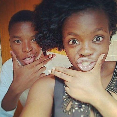 Some mistake us to be siblings. Bff Besties Love Thugs selfies
