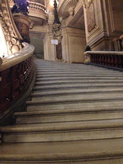 Looking up 19th Century Architecture Feature Grand Historical Building History Interior Low Angle View Operahouse Opéra Palais Palais Garnier Palais Garnier Opera House Paris Paris Je T Aime Paris ❤ Paris, France  Stairs