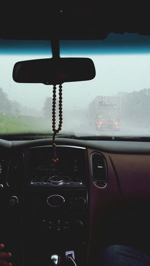 The Journey Is The Destination in my way to connecticut Rain Raining Rainy Day On The Way