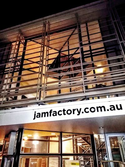 Www. Building .com Www Website Information Sign WesternScript Sign Signs Signs_collection SIGN. SIGNS: Window Building Exterior Built Structure Check This Out No People Taking Photos Night Photography Nightphotography Jamfactory.com.au Thejamfactory The Jamfactory Jamfactory The Jam Factory Text Western Script Architecture Built Structure Signboard
