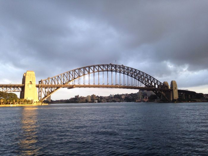 Sunrise over SydneyHarbourBridge
