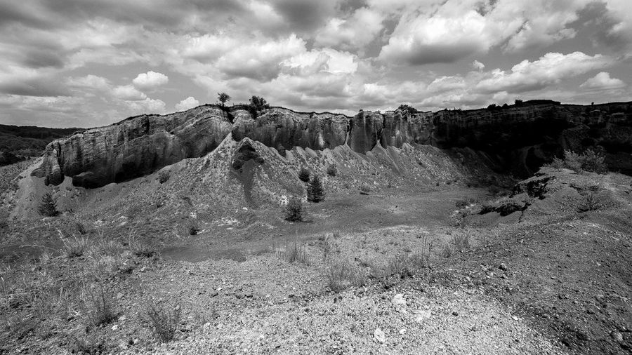 Cloud - Sky Sky Tranquility Tranquil Scene Scenics - Nature Environment Beauty In Nature Non-urban Scene Rock Formation No People Physical Geography Arid Climate Eroded Landscape Vulcanic Landscape