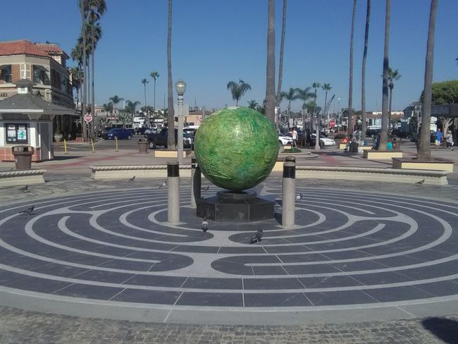 Newport Beach Pier Newport Beach, CA, USA Outdoors Curve Concentric Original Photography CA Globe Earth Landmark
