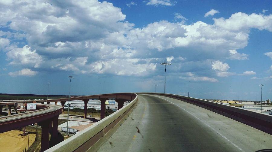 Laredo Texas Sky Truckdriving My Day