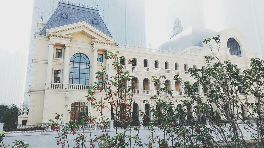 威尼斯水城(大连)Architecture Built Structure Building Exterior Window Travel Destinations Architectural Column Outdoors No People Day City Sky