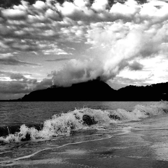 Waves. First Eyeem Photo Nature Beach B&w