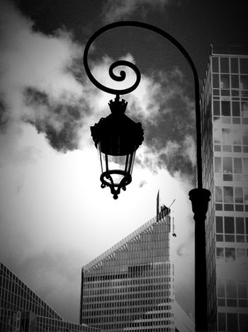 Black & White Black And White Blackandwhite Architecture Retro Lantern Building Perspectives Perspective Shades Of Grey Black And White Friday