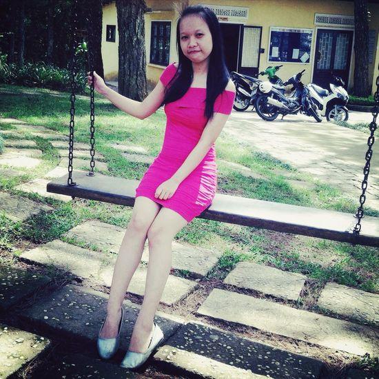 Pink Girl Beauty Model