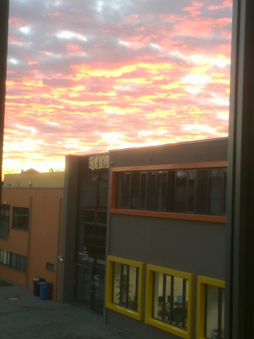 sunset, window, sky, cloud - sky, no people, indoors, architecture, day