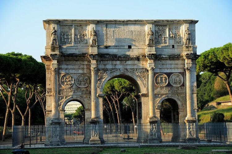 Arch of Constantine Rome Architecture Built Structure History Travel Destinations Outdoors Arch Ancient Civilization City Photography Rome Travel Italy No People Canon5Dmk3 Canon
