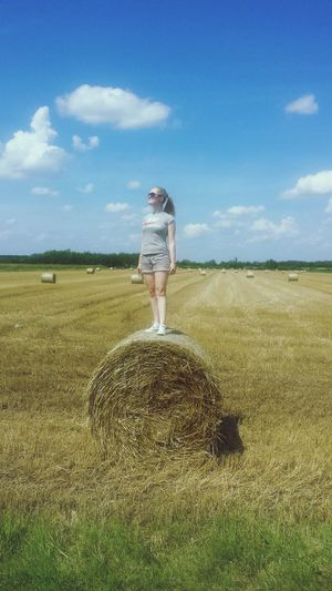 The Great Outdoors - 2016 EyeEm Awards Gyula , Hungary Adventure Club Showcase July People Together Home Is Where The Art Is 43 Golden Moments Holiday Hello EyeEm Eyem Best Shots Check This Out Hay Bales Overexposed