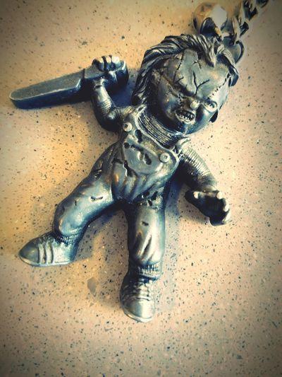 Chucky Table Human Representation Close-up