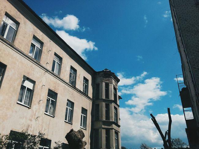 House Sky Vscosky VSCO Vscocam Vscoukraine Blue Sky