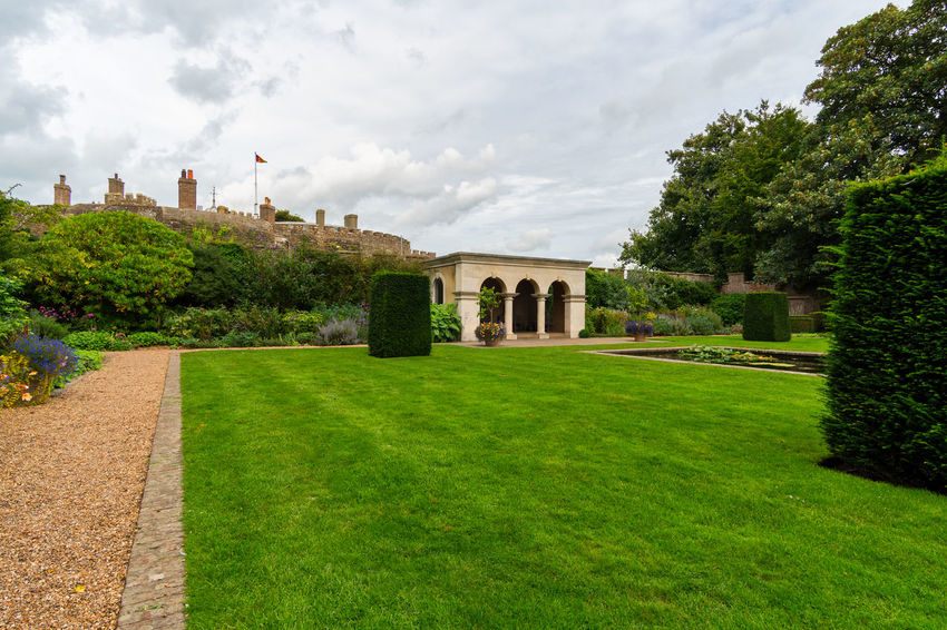 Walimex 12mm Walmer Castle & Gardens Architecture Building Exterior Built Structure Cloud - Sky Day Grass Green Color History Nature No People Outdoors Plant Sky Tree