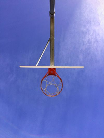 Showcase March Spring Basketball Blue Sky Outdoors Sky And Clouds Angles And Lines
