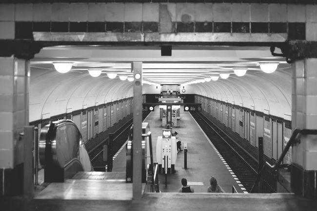 Subway Subway Station Subwayphotography Berlin Platz Der Luftbrücke Urban Geometry Architecture Underground