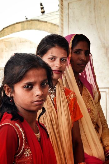 The Portraitist - 2017 EyeEm Awards Young Adult Portrait Looking At Camera Young Women Young Men Lifestyles Real People Men Women Adult Togetherness Human Body Part Sari Friendship Day Indoors  Adults Only People