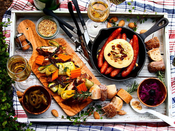 Food Styling Relaxing Tray Cheese Drink Focus On Foreground Food Food And Drink Freshness Healthy Eating Outdoor Ready-to-eat Refreshing Relaxation