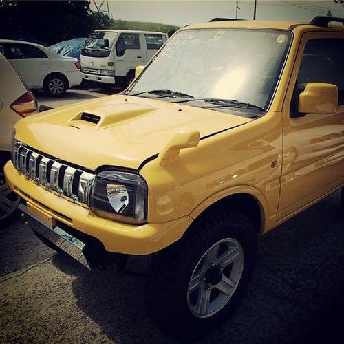 Super yellow jimbo 660 ♡ Suzuki Jimny 660 K6a mt turbo jimny25 kamchatka rockcrowler jimny4x4 jb23 jimnyjapan