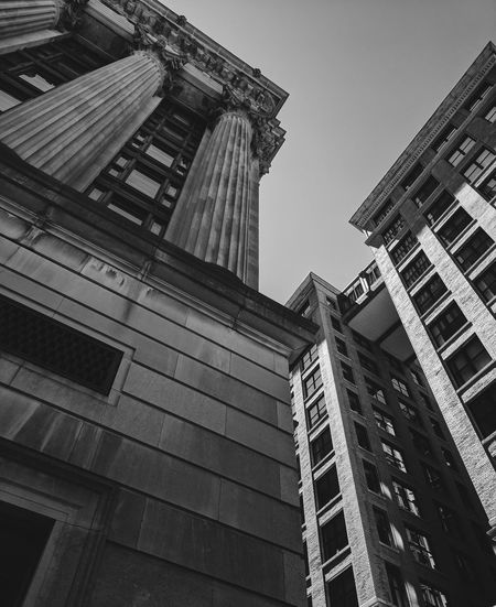 Building Architecture Building Exterior Built Structure Low Angle View City Outdoors Downtown District No People Modern Cityscape Boston Boston, Massachusetts Boston Massachusetts Downtown