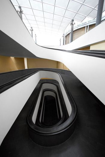 The white Photooftheday Photography EyeEmBestPics Enjoying Life Exploring Hello World Today's Hot Look White Background Minimalism EyeEm Gallery EueEmNewHere Staircase Architecture_collection EyeEm Best Shots Indoors  Railing Steps Day EyeEmNewHere
