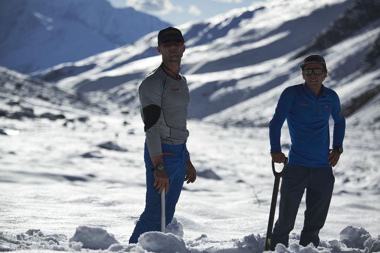 Snow Winter Men