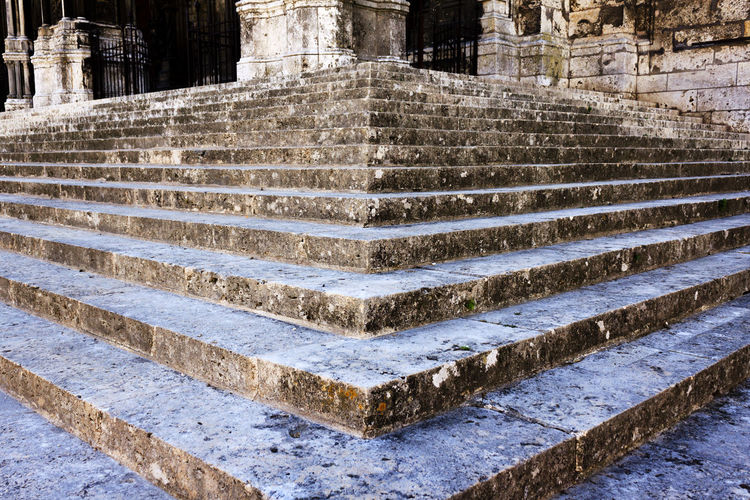 Ancient Architecture Built Structure Concrete History No People Old Outdoors Pattern Solid Staircase Steps And Staircases Stone Material The Past Travel Destinations