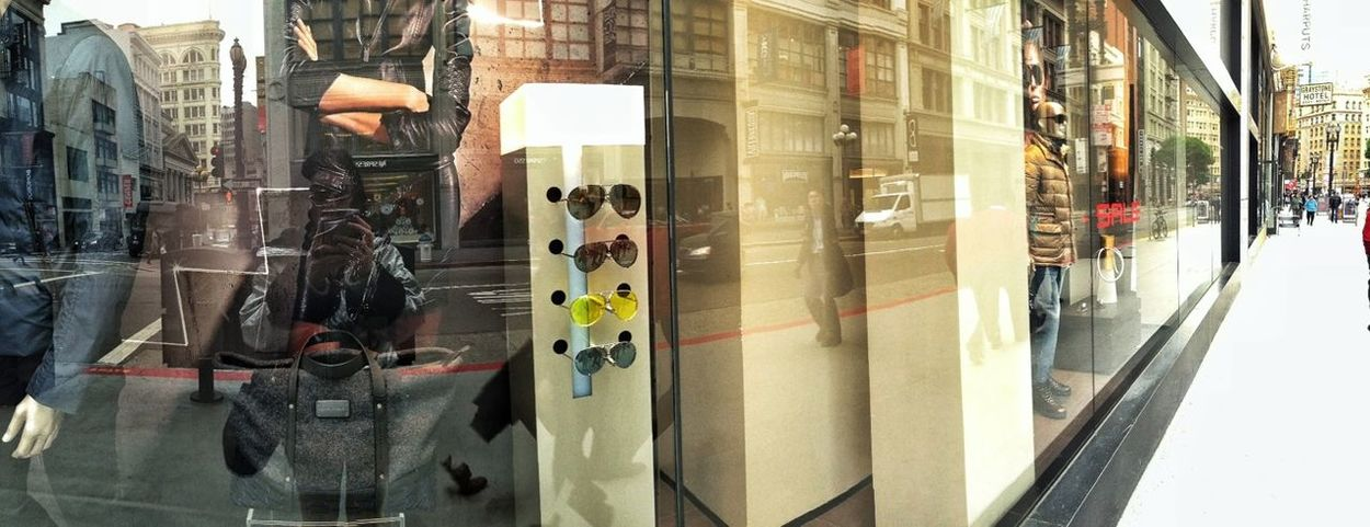 Reflection Window Shopping Porsche IPhone5