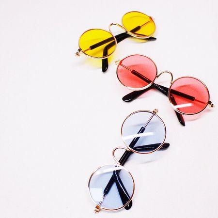 Sunglasses Eyeglasses  Eyewear Glasses Still Life Eyesight Eye Mask Vision No People Studio Shot Multi Colored Reading Glasses White Background Close-up Eye Test Equipment Day