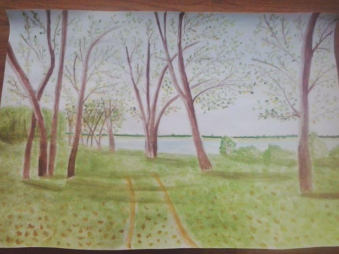 Nature On Your Doorstep EyeEm Wow *-* Watercolor рисунок акварелью My Home Picture My Inspiration Природа Nature