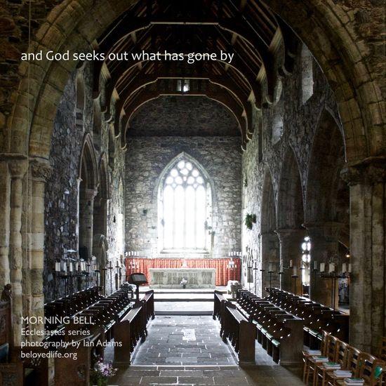 no 33 in 'for everything a season' series Stillness Prayer Wisdom Contemplation Ecclesiastes Iona All Saints  All Saints' Day