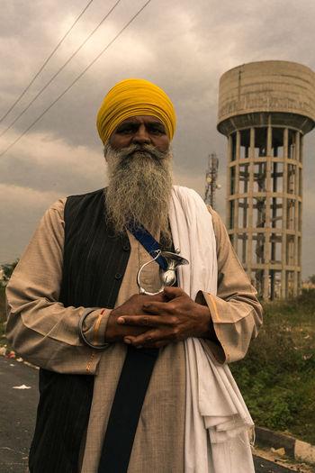 ANANDPURSAHIB Anandpur Sahib Everyday Lives India Punjab Travel Travel Photography Portrait Portrait Of A Man  Real People Street Photography