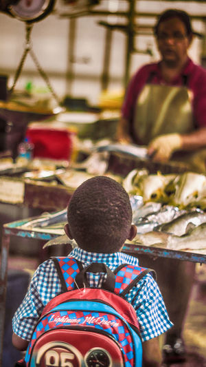 Amazement And Wonderment Child Childhood Curiosity Fish FishMarket Fisherman Grunge Streetphotography Fishing Fishermen Adventure Seafood Healthy Eating