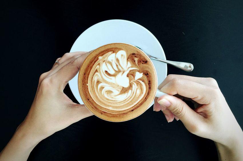 Mocha Coffee Time Relaxing Drinks IPhoneography My Favorite Breakfast Moment Brunch Breakfast EyeEm X My Muesli - Breakfast Moment