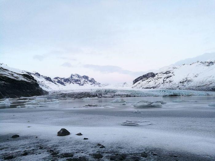 Snow Cold Temperature Winter Ice Nature Mountain Frozen