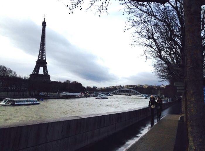 Paris ❤ Seine River Tour Eiffel Eiffel Tower Streetphotography On A Stroll Being A Tourist Travelling ✈ Taking Photos Landmarks
