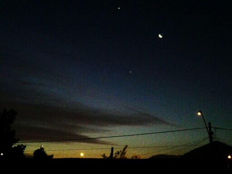 vista desde mi ventana Conchali Luna Moon Nightphotography Stars Chile_360 Chilefotos First Eyeem Photo