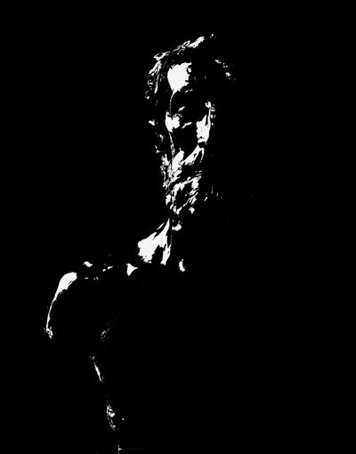 Rodin EyeEm Art Contrast Portrait Blackandwhite Rodin Clair Obscur Sculpture