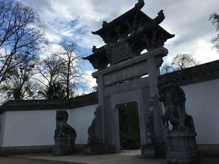 Mainhattan Frankfurt Am Main Garden Photography Chinese Garden Bethmannpark Chinesisch Showcase April