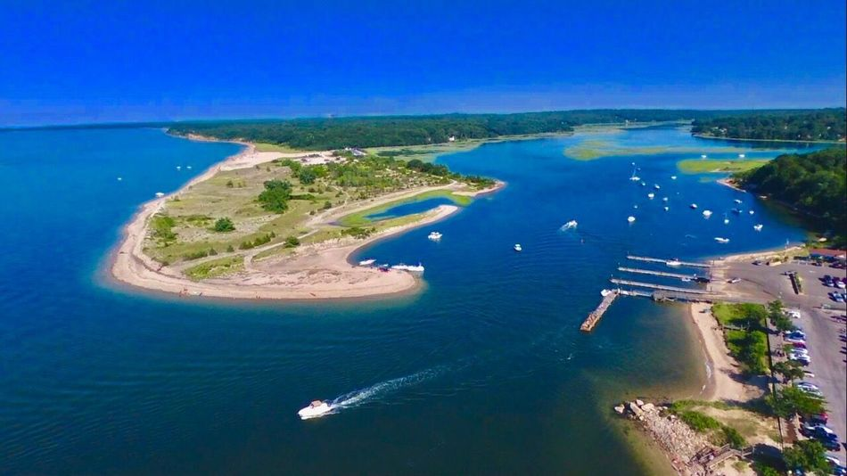 Bluff Kings Park Bluff Long Island, Ny Dronephotography Droneshot Drone  Lost In The Landscape