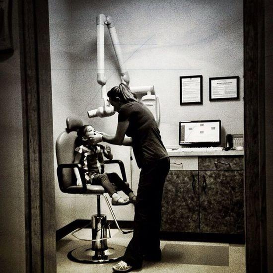 Dental Appointment Blackandwhite Children Dentist WorkLife Mcallen Rgv People