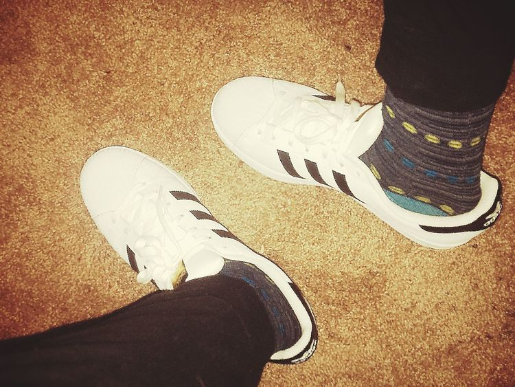 One Person Adidassupertar Crazysocks  Shoes