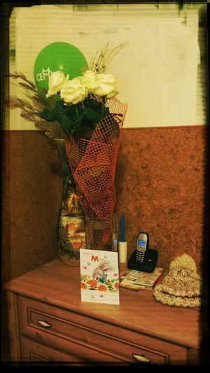 А вы уже поздравили маму с днем Матери? Mothersday Roses White открытка