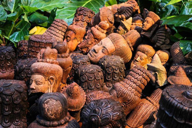 Abundance Arrangement Asian Culture Backgrounds Brown Cambodia Chiang Mai | Thailand Growth Heap Nature Still Life