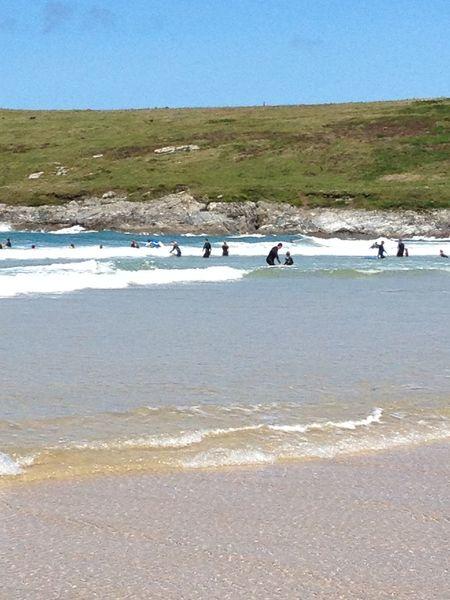 Sea Surf Beach Waves Cornwall Crantock Crantockbeach
